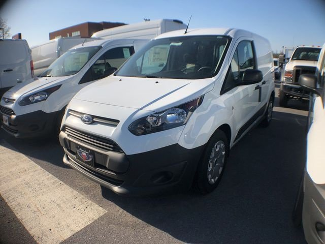 2018 Frozen White Ford Transit Connect XL 2.5L I4 iVCT Engine FWD Van 4 Door Automatic