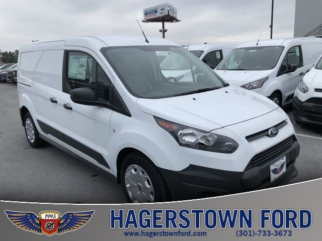 2018 Frozen White Ford Transit Connect XL 2.5L I4 iVCT Engine FWD Automatic 4 Door