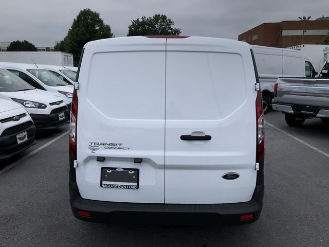2018 Frozen White Ford Transit Connect XL Automatic 4 Door Van 2.5L I4 iVCT Engine FWD