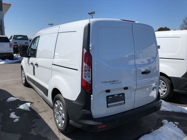 2018 Frozen White Ford Transit Connect XL Van FWD 2.5L I4 iVCT Engine 4 Door