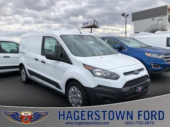 2018 Frozen White Ford Transit Connect XL FWD Van 2.5L I4 iVCT Engine Automatic