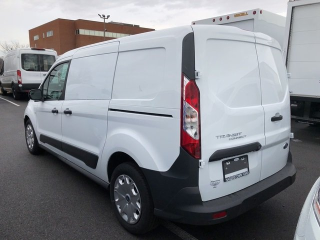 2018 Frozen White Ford Transit Connect XL 2.5L I4 iVCT Engine 4 Door Automatic FWD Van