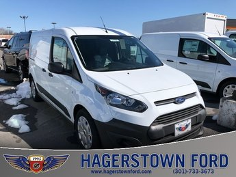 2018 Frozen White Ford Transit Connect XL 2.5L I4 iVCT Engine 4 Door Automatic FWD