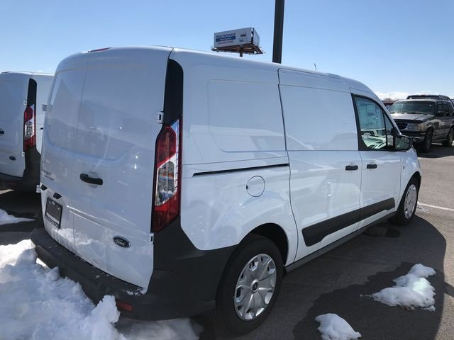 2018 Frozen White Ford Transit Connect XL 4 Door FWD Automatic Van 2.5L I4 iVCT Engine