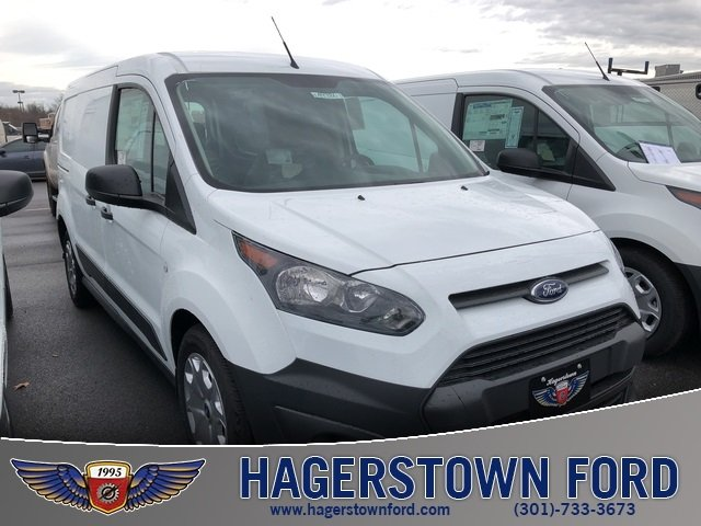 2018 Frozen White Ford Transit Connect XL FWD Automatic 4 Door 2.5L I4 iVCT Engine Van