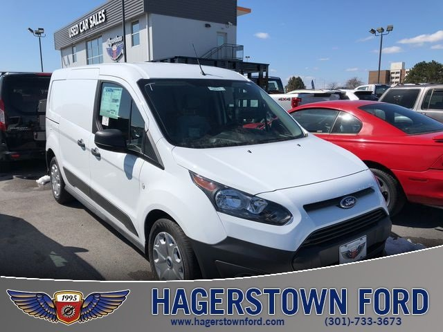2018 Frozen White Ford Transit Connect XL 4 Door Automatic Van FWD 2.5L I4 iVCT Engine