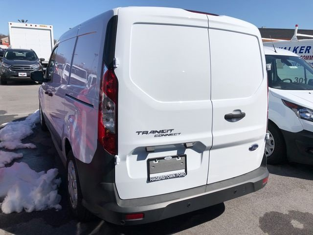 2018 Frozen White Ford Transit Connect XL FWD Automatic 2.5L I4 iVCT Engine 4 Door Van