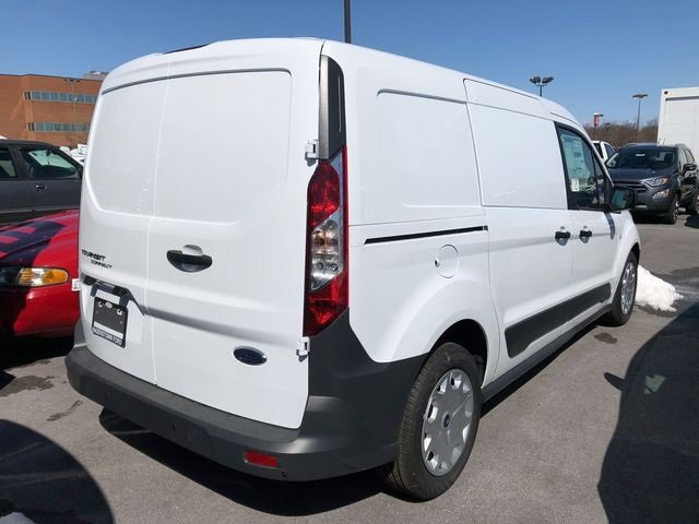 2018 Frozen White Ford Transit Connect XL 2.5L I4 iVCT Engine 4 Door Van Automatic