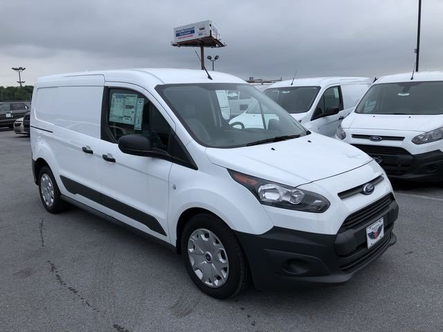 2018 Frozen White Ford Transit Connect XL Van Automatic FWD 2.5L I4 iVCT Engine