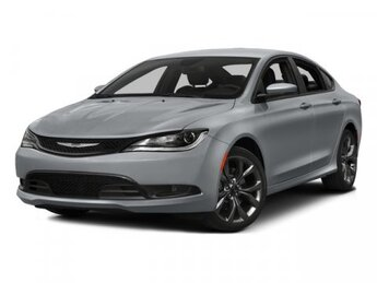 2015 Chrysler 200 Limited Car FWD Regular Unleaded I-4 2.4 L/144 Engine Automatic 4 Door