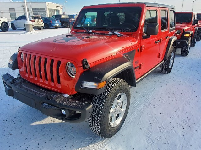 2021 Jeep Wrangler Freedom Automatic Gas/Electric V-6 3.6 L/220 Engine 4X4