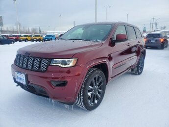 2020 Velvet Red Pearlcoat Jeep Grand Cherokee Altitude Regular Unleaded V-6 3.6 L/220 Engine 4X4 Automatic 4 Door