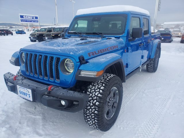 2021 Jeep Gladiator Rubicon Truck 4 Door Regular Unleaded V-6 3.6 L/220 Engine