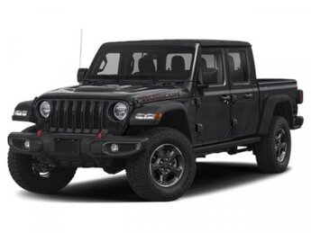 2020 Billet Silver Metallic Clearcoat Jeep Gladiator Rubicon 4 Door Truck Regular Unleaded V-6 3.6 L/220 Engine Automatic