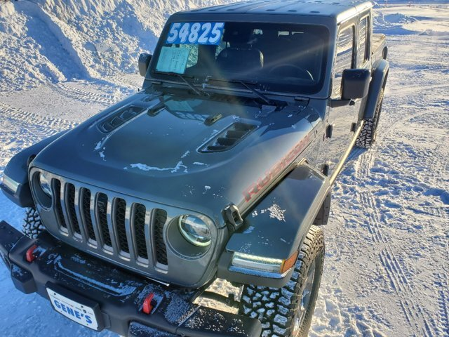 2020 Sting-Gray Clearcoat Jeep Gladiator Rubicon Regular Unleaded V-6 3.6 L/220 Engine 4 Door Automatic