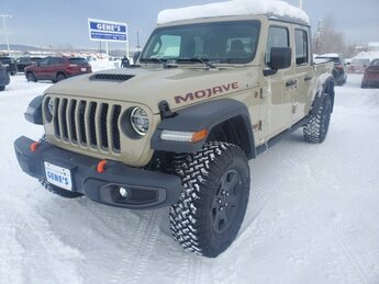 2020 Gobi Clearcoat Jeep Gladiator Mojave 4 Door Truck Regular Unleaded V-6 3.6 L/220 Engine 4X4 Automatic