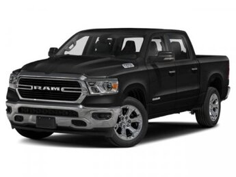 2020 Diamond Black Crystal Pearlcoat Ram 1500 Big Horn Regular Unleaded V-8 5.7 L/345 Engine Truck 4 Door 4X4