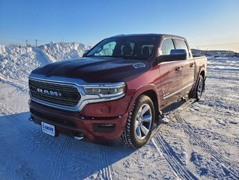 2019 Delmonico Red Pearlcoat Ram 1500 Limited Truck Regular Unleaded V-8 5.7 L/345 Engine 4X4