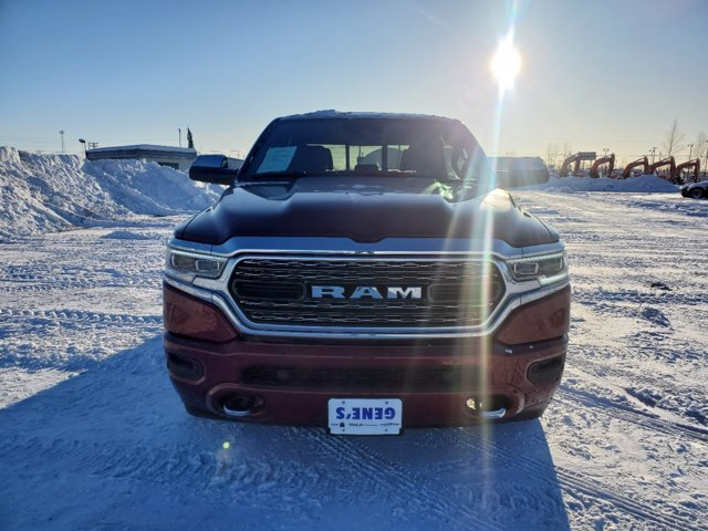 2019 Delmonico Red Pearlcoat Ram 1500 Limited Automatic Truck 4X4 4 Door Regular Unleaded V-8 5.7 L/345 Engine