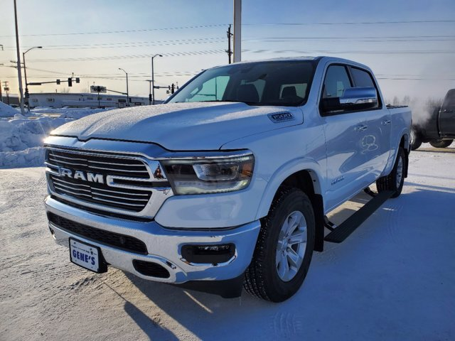 2021 Bright White Clearcoat Ram 1500 Laramie 4 Door 4X4 Automatic