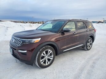 2020 Ford Explorer Platinum SUV AWD Twin Turbo Premium Unleaded V-6 3.0 L/183 Engine 4 Door