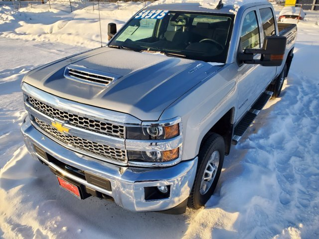 2019 Silver Ice Metallic Chevrolet Silverado 2500HD LT 4X4 Truck 4 Door Automatic