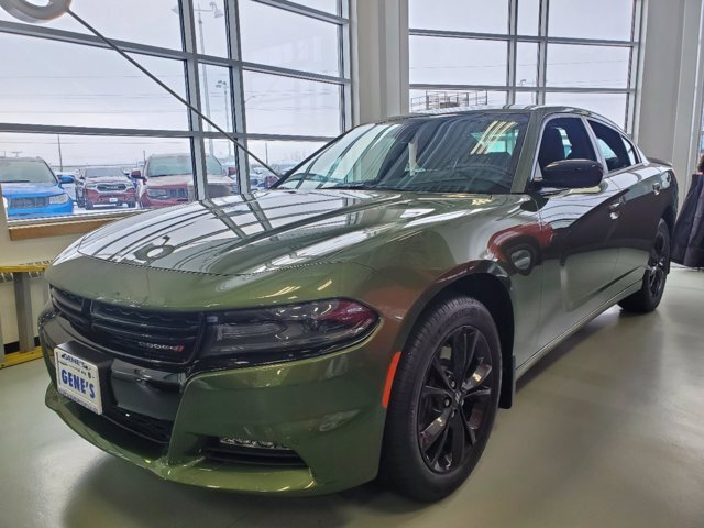 2020 F8 Green Dodge Charger SXT 4 Door AWD Sedan Regular Unleaded V-6 3.6 L/220 Engine