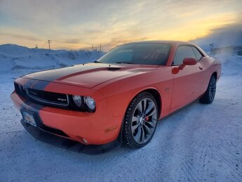 2013 Hemi Orange Pearl Dodge Challenger SRT8 2 Door Car Automatic Gas V8 6.4L/392 Engine