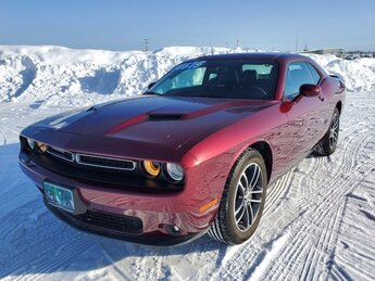2019 Octane Red Pearlcoat Dodge Challenger SXT 2 Door Car Automatic AWD Regular Unleaded V-6 3.6 L/220 Engine