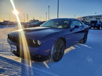 2020 Indigo Blue Dodge Challenger GT Regular Unleaded V-6 3.6 L/220 Engine Coupe 2 Door Automatic AWD