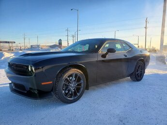 2021 Pitch Black Clearcoat Dodge Challenger GT Regular Unleaded V-6 3.6 L/220 Engine AWD Automatic 2 Door Car