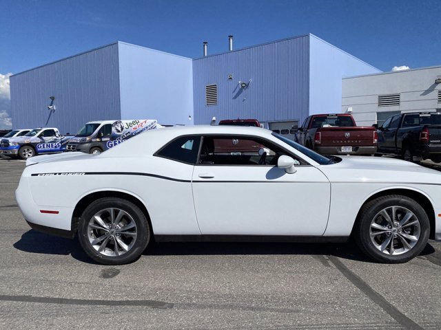 2020 White Knuckle Clearcoat Dodge Challenger GT AWD 2 Door Coupe