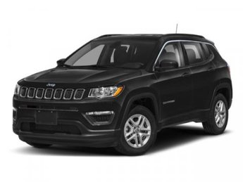 2020 Laser Blue Pearlcoat Jeep Compass Altitude Regular Unleaded I-4 2.4 L/144 Engine SUV 4 Door