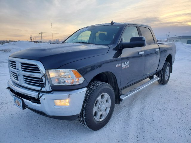 2018 Maximum Steel Metallic Clearcoat Ram 2500 Big Horn Premium Unleaded V-8 6.4 L/392 Engine 4 Door 4X4