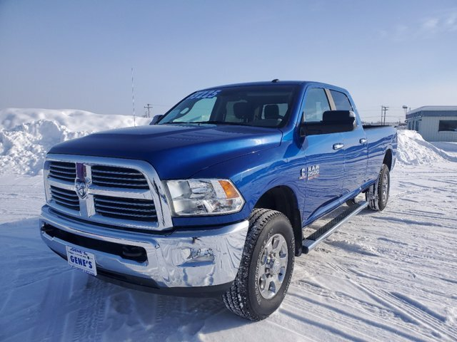 2018 Blue Streak Pearlcoat Ram 2500 Big Horn Intercooled Turbo Diesel I-6 6.7 L/408 Engine Automatic Truck