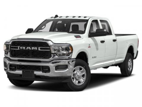 2020 Pearl White Ram 2500 Laramie 4X4 4 Door Intercooled Turbo Diesel I-6 6.7 L/408 Engine