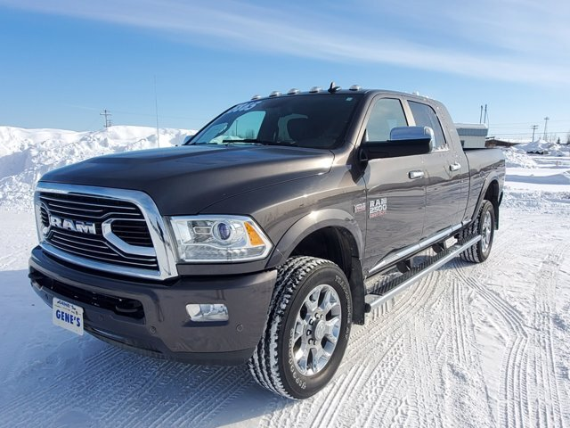 2017 Granite Crystal Metallic Clearcoat Ram 2500 Limited Automatic 4 Door Premium Unleaded V-8 6.4 L/392 Engine