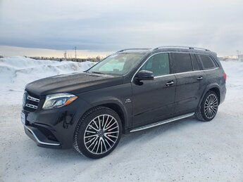 2018 Mercedes-Benz GLS AMG GLS 63 Twin Turbo Premium Unleaded V-8 5.5 L/333 Engine SUV 4 Door AWD