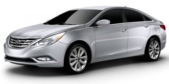 2011 Radiant Silver Metallic Hyundai Sonata GLS FWD Car 4 Door Gas I4 2.4L/144 Engine