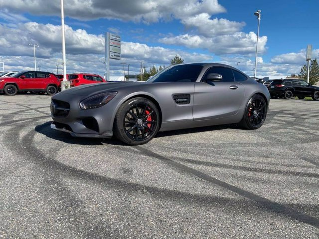 2016 Gray Mercedes-Benz AMG GT S Twin Turbo Premium Unleaded V-8 4.0 L/243 Engine Automatic Coupe RWD