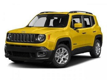 2016 Jeep Renegade Latitude Manual 4 Door SUV 4X4