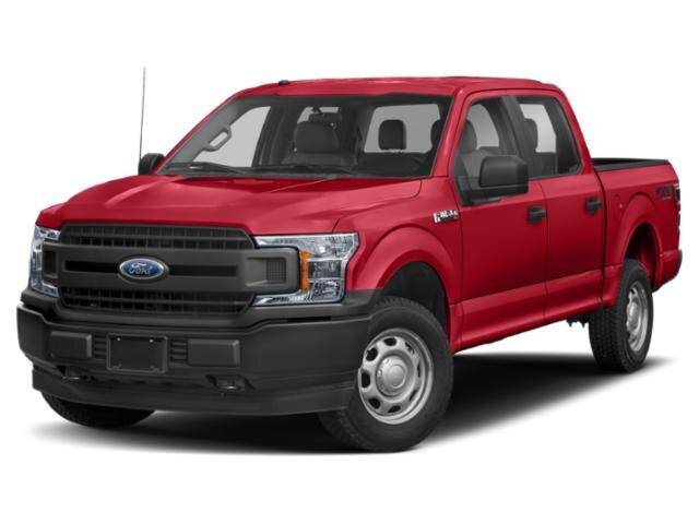 2019 Race Red Ford F-150 XL 4 Door 2.7L V6 Engine Truck