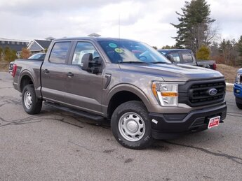 2021 Stone Gray Metallic Ford F-150 XL 3.5L V6 Engine Automatic 4 Door