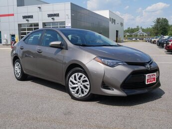 2018 Falcon Gray Metallic Toyota Corolla LE FWD 4 Door Sedan