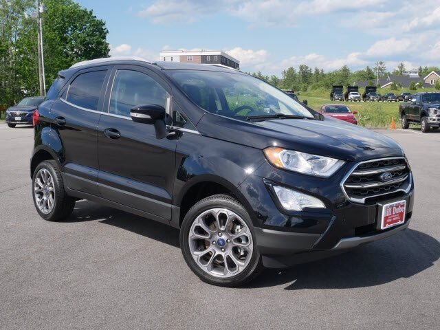 2020 Shadow Black Ford EcoSport Titanium 2.0L 4 cyls Engine 4 Door Automatic