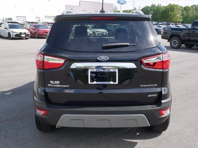2020 Ford EcoSport Titanium 4 Door SUV 2.0L 4 cyls Engine Automatic 4X4