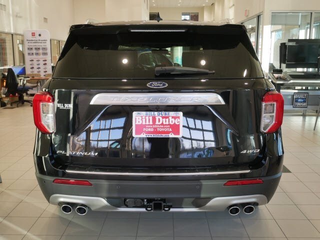 2021 Agate Black Metallic Ford Explorer Platinum 4 Door 4X4 3.0L V6 Engine Automatic SUV