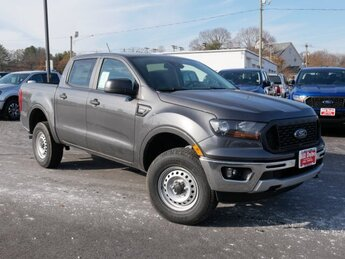 2019 Magnetic Metallic Ford Ranger XL 4 Door 2.3L 4 cyls Engine Truck Automatic 4X4