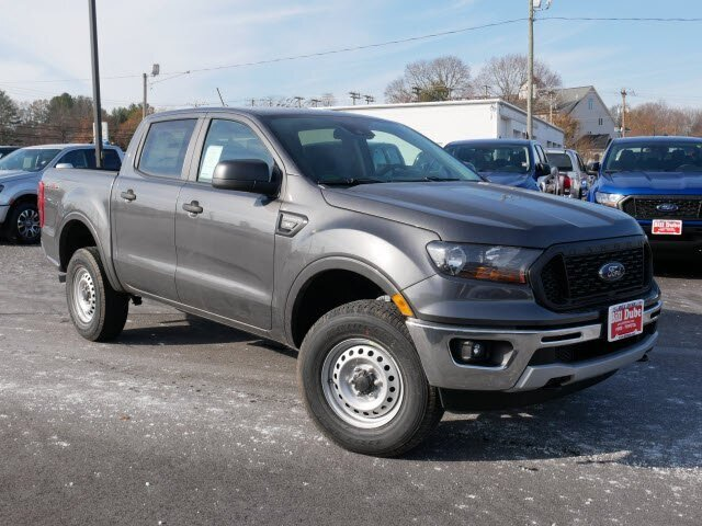 2019 Magnetic Metallic Ford Ranger XL 4 Door 4X4 Automatic