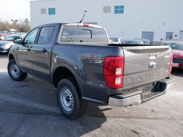 2019 Magnetic Metallic Ford Ranger XL 4 Door Truck 4X4 Automatic 2.3L 4 cyls Engine